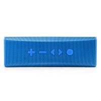 shockwave S20 蓝牙音箱 便携式双喇叭蓝牙数码音箱 可接听电话无线蓝牙音响 蓝色