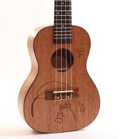 乌克丽丽儿童小吉他 雕刻尤克里里初学者学生女21/23寸