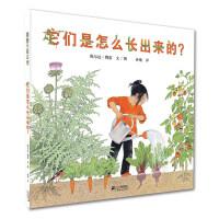 它们是怎么长出来的? 一本趣味十足的科普书,让城市里的孩子亲近自然,了解蔬菜生长的奥秘!