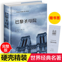 巴黎圣母院 世界名著经典文学名作名家名译10-15岁中学生新课标语文课外阅读推荐书籍青少年读物
