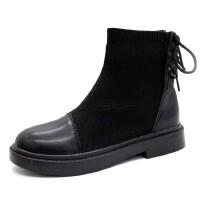 WARORWAR新品YM45-33-3冬季欧美低跟女短靴