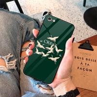 iphonex手机壳8plus女款7plus苹果xs max潮牌6splus个性6plus创意iph 【时尚莫兰迪绿】