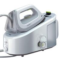 德国博朗(Braun)压力式蒸汽电熨斗挂烫平熨二合一抗刮擦底板 2L可拆卸水箱IS3022白色/绿色