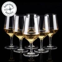 Bormioli Rocco 意大利原装进口 伊莱特啤酒杯 高脚杯 红酒杯 葡萄酒杯 440ml 2只装