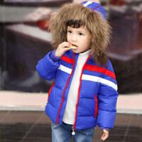 儿童羽绒服女宝宝加厚外套男童冬装女童婴幼儿童装1-2-3-4岁冬款