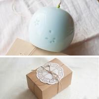 手工陶瓷风铃挂饰日式和风汽车挂件家居装饰品创意生日礼物
