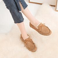 豆豆鞋 女士时尚韩版冬季豆豆鞋2020新款棉鞋女式休闲套脚保暖单鞋加绒鞋女鞋子