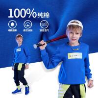 【秒杀到手预估价:174】361童装官方男童针织套装2021秋季新品中大童运动休闲套装 N52133401
