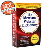 The Merriam-Webster Dictionary 韦氏英语词典【英文原版 韦小红韦氏三宝之一适合托福SAT、GRE、便携修订版】