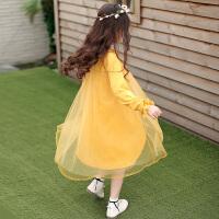 女童春装连衣裙新款儿童装裙子韩版中大童洋气公主裙