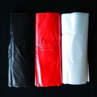2018小垃圾袋迷你小号桌面20cm车载一次性黑色背心式垃圾袋红色塑料袋 22*32 黑色 小号 300个