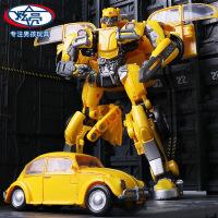 变形玩具金刚3大黄蜂电影正版5合金汽车机器人模型4男孩6-9岁战士