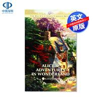 英文原版 爱丽丝梦游仙境 Alice's Adventures In Wonderland 世界经典文学名著小说系列 T