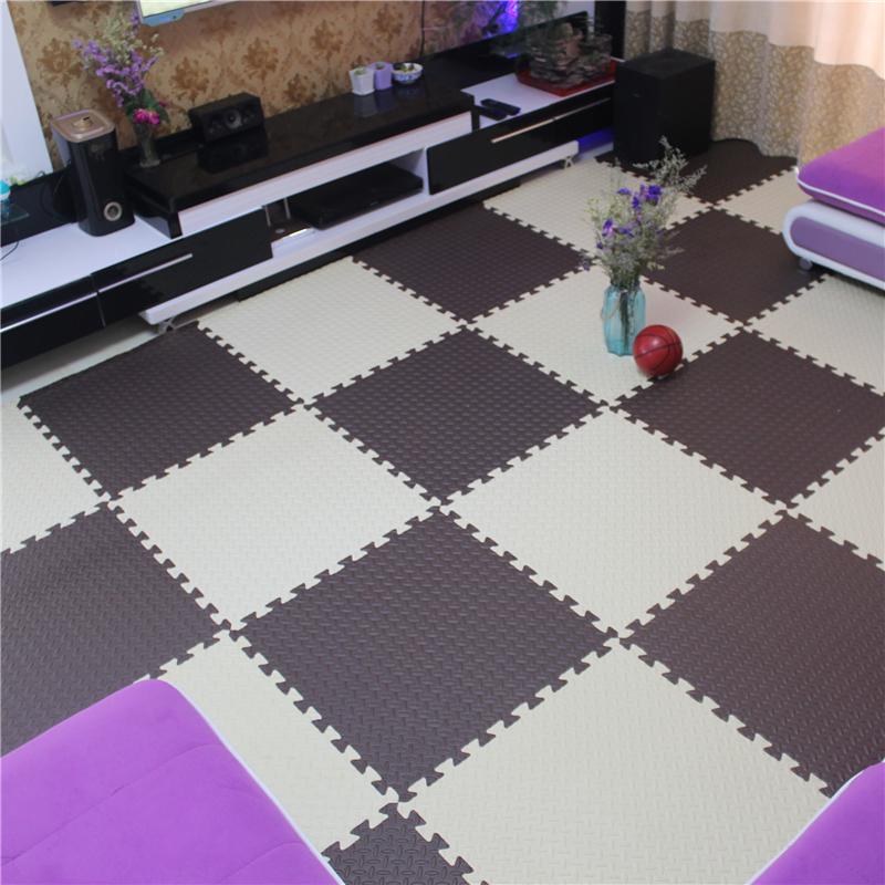 榻榻米大号60加厚拼图泡沫地垫板子拼接爬爬行垫卧室客厅铺地地毯