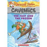 英文原版 老鼠记者4 Geronimo Stilton Cavemice #4:The Fast and the Fro