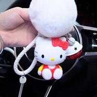 韩国卡通可爱猫咪汽车钥匙扣猫男士女款情侣钥匙链包包挂件小礼物