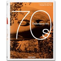 Decorative Art 70s 70年代的装饰艺术设计图书 建筑 室内装饰 复古家具 英文原版艺术设计画册集