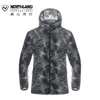 诺诗兰2018春夏新品男士防晒皮肤衣防紫外线upf50+风衣GL075101