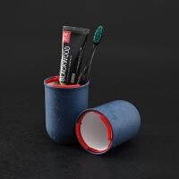 防水出差男女洗漱包旅游用品 旅行洗漱杯套装牙刷牙膏盒便携