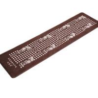 仿鹅卵石足底按摩垫指压板足疗走毯脚底按摩器棕色