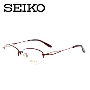 SEIKO精工眼镜架 眼镜框近视女款 半框纯钛商务超轻眼镜HC2010