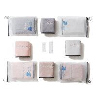 创意毛巾比轻柔软吸水情侣女家用洗脸个性简约大手巾 (两条装) 37x76cm