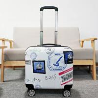 可爱小行李箱女韩版拉杆箱18寸旅行箱卡通密码箱16寸迷你登机箱男