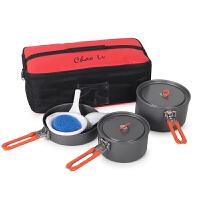 户外野餐包炊具收纳包套锅气罐防撞便餐具包自驾游野营送餐包