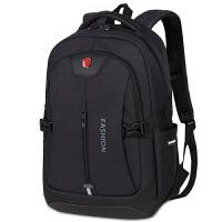 男士双肩包休闲旅行包运动背包韩版女电脑包时尚潮流大学生书包男
