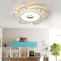 led儿童灯 简约现代卧室灯男孩女孩房间灯具创意个性吸顶灯