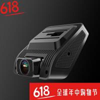 无线行车记录仪测速电子狗一体隐藏式双镜头汽车高清全景夜视360SN2034 黑色