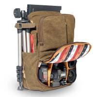 摄影包 多功能双肩相机包 户外休闲旅行便携防水电脑单反背包 褐色 NG国家地理5270款