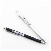 晨光文具 金属系列金属笔杆按动圆珠笔原子笔0.5mm蓝色0101 笔杆颜色随机