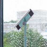 家用伸缩杆擦窗器擦玻璃清洁工具洗擦窗户刮玻璃器刷子清洗玻璃擦