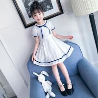 夏季休闲连衣裙新款韩版儿童装裙子女大童时尚洋气公主裤