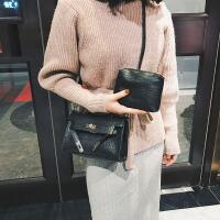 女包包2017新款时尚子母包鳄鱼纹女大包百搭手提包单肩包斜挎包潮