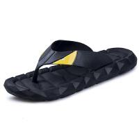 软底情侣人字拖鞋男女秋季防滑韩版拖鞋橡胶底夹趾沙滩鞋