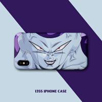 七龙珠苹果6s手机壳弗利萨动漫iphone7plus情侣款7套8X男XMAX 小6/6s 弗利萨眼睛【磨砂】
