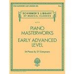 【预订】Piano Masterworks - Early Advanced Level: Schirmer'