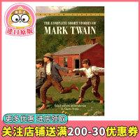 马克吐温短篇小说全集 英文原版 Complete Short Stories of Mark Twain 马克吐温短篇故事集 世界经典文学小说 中小学生课外英语读物