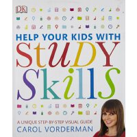 【现货】 英文原版 帮你的孩子掌握学习技能 DK家庭教育系列 Help Your Kids with Study Sk