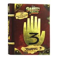英文原版 Gravity Falls: Journal 3 怪诞小镇日志 迪普日记3 Alex Hirsch 精装收藏