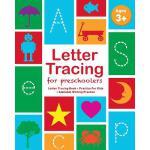 【预订】Letter Tracing for Preschoolers: Letter Tracing Book, P
