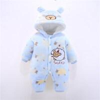 婴儿连体衣秋冬季宝宝外出服冬装加厚保暖棉衣3哈衣婴儿衣服0-1岁