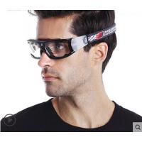 宽边眼镜大框专业篮球眼镜足球运动护目眼镜防撞可配近视男防雾