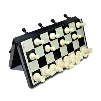 大号先行者B-9国际象棋 磁性折叠棋盘 磁性象棋子+教材,正品先行者 磁性折叠 送教材