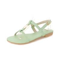 WARORWAR法国新品YGM-DV-6夏季欧美平底女鞋潮流时尚潮鞋百搭潮牌凉鞋女