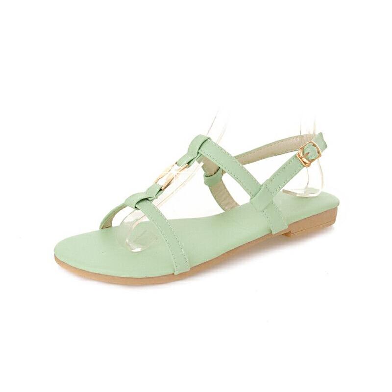 WARORWAR法国 2019新品YGM-DV-6夏季欧美平底女鞋潮流时尚潮鞋百搭潮牌凉鞋女