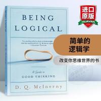 简单的逻辑学 英文原版 Being Logical 原版科普入门书 华研原版进口哲学书