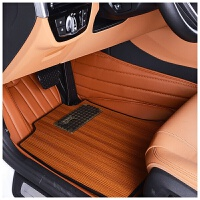 汽车脚垫全包围实木地板适用于保时捷路虎宝马奥迪丰田捷豹凯迪拉克奔驰